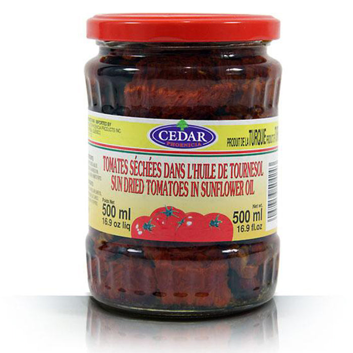 CEDAR SUN DRIED TOMATOES IN SUNFLOWER OIL 500ML