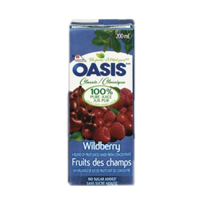 OASIS WILDBERRY JUICE 3×200ML