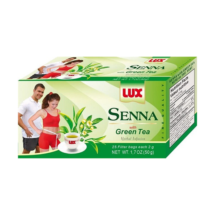 LUX SENNA GREAN TEA 50G