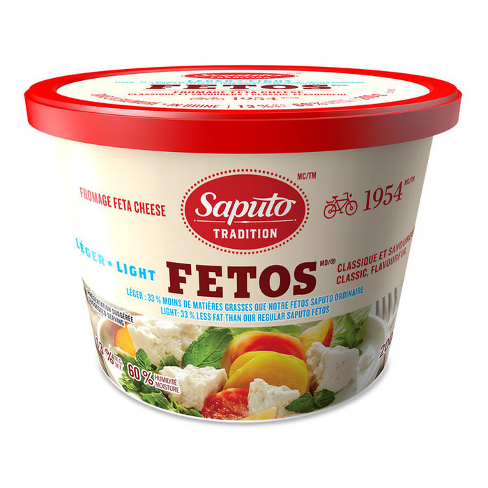SAPUTO 200G FETA CHEESE LIGHT