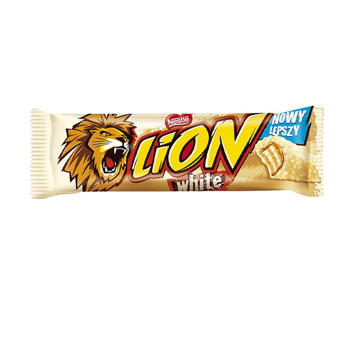 NESTLE LION WHITE CHOCOLATE BAR 42G