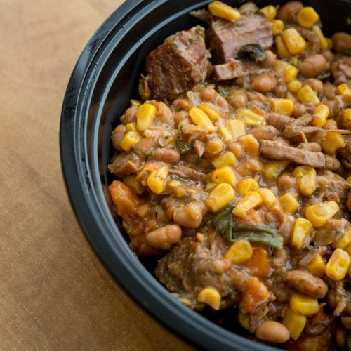 BEEF STEW WITH CORN