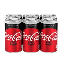 COCA-COLA ZERO SUGAR 6*222 ML