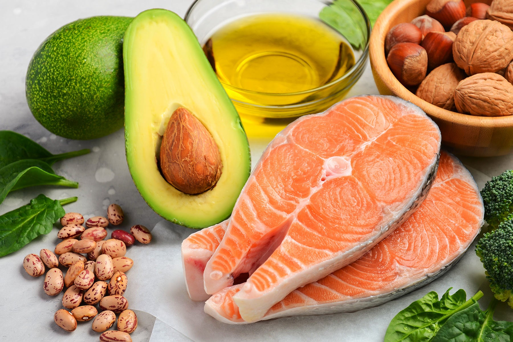 picture of healthy fats