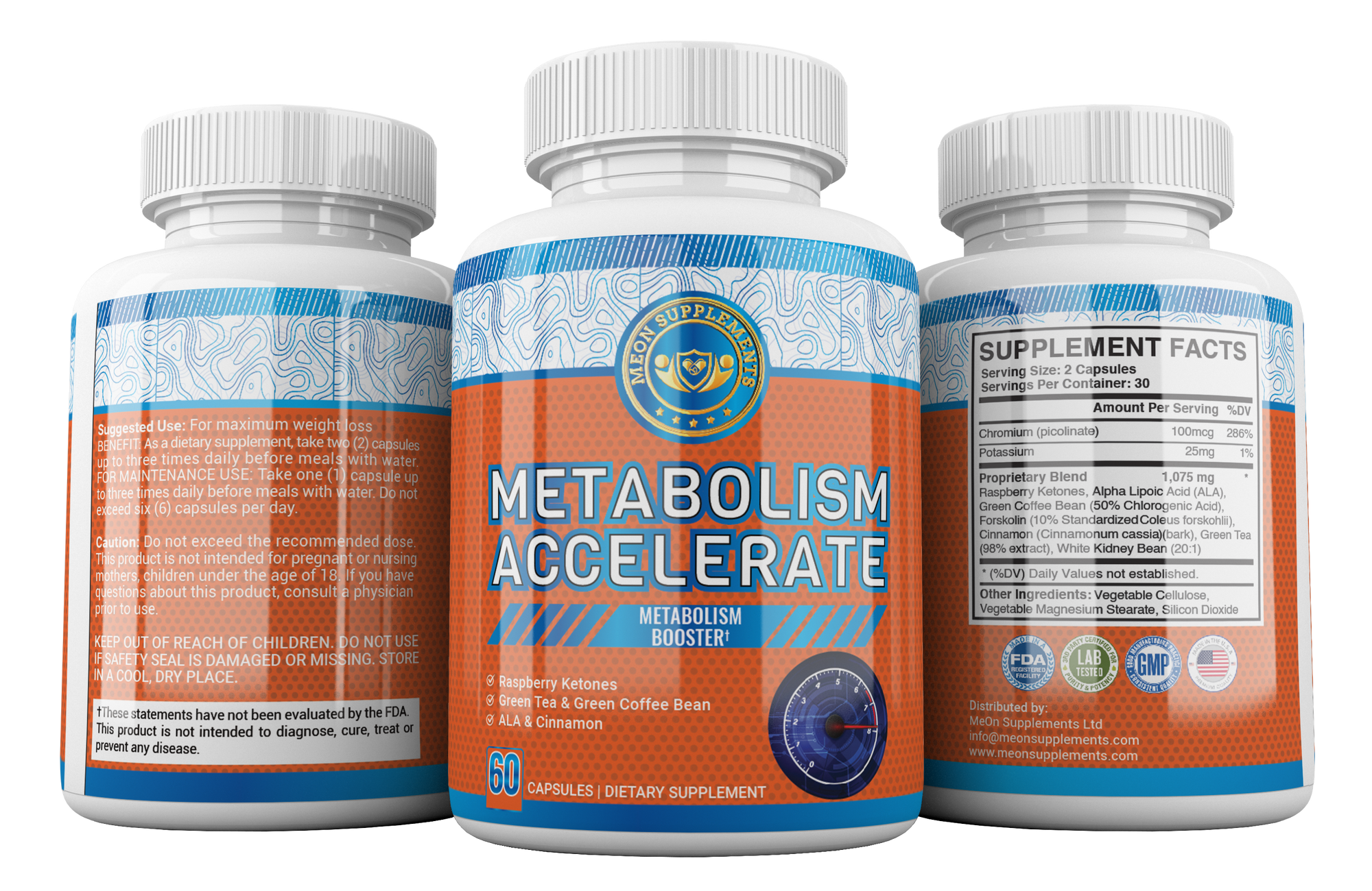 Metabolism Accelerate - MEON Supplements