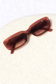 Creeper Sunglasses - Matte Fig