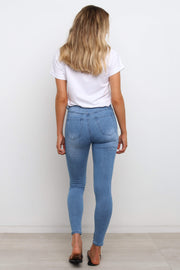 BOTTOMS Heather Jeans - Dark Wash