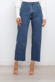 BOTTOMS Maggie Jeans - Mid Wash