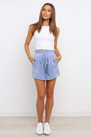 BOTTOMS ***Unley Shorts - Blue