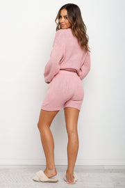 BOTTOMS Vance Shorts - Blush