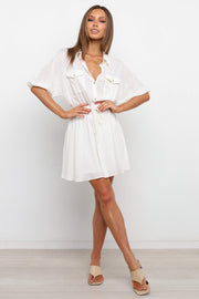 DRESSES ***Zarin Dress - Ivory 23/12 (CHECK PRICE)
