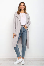 OUTERWEAR ***Catia Coatigan - Grey