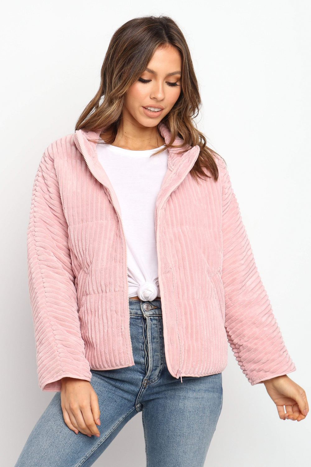 OUTERWEAR ***Meldon Jacket - Blush
