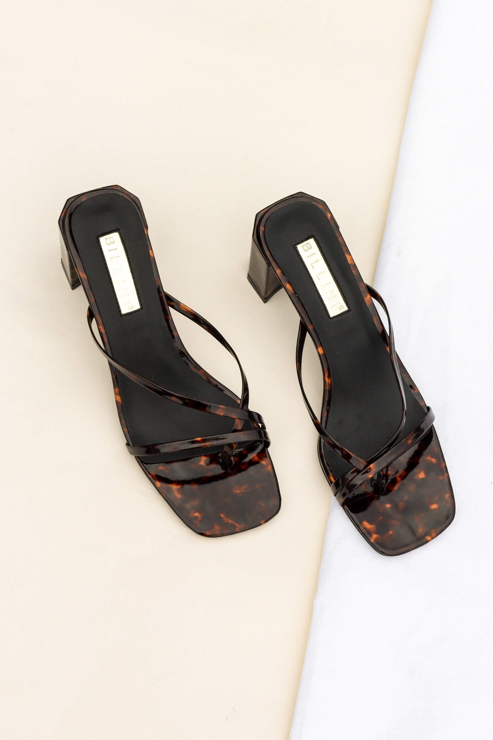 SHOES ***Lotta Heel - Tortoiseshell (DESCRIPTION)