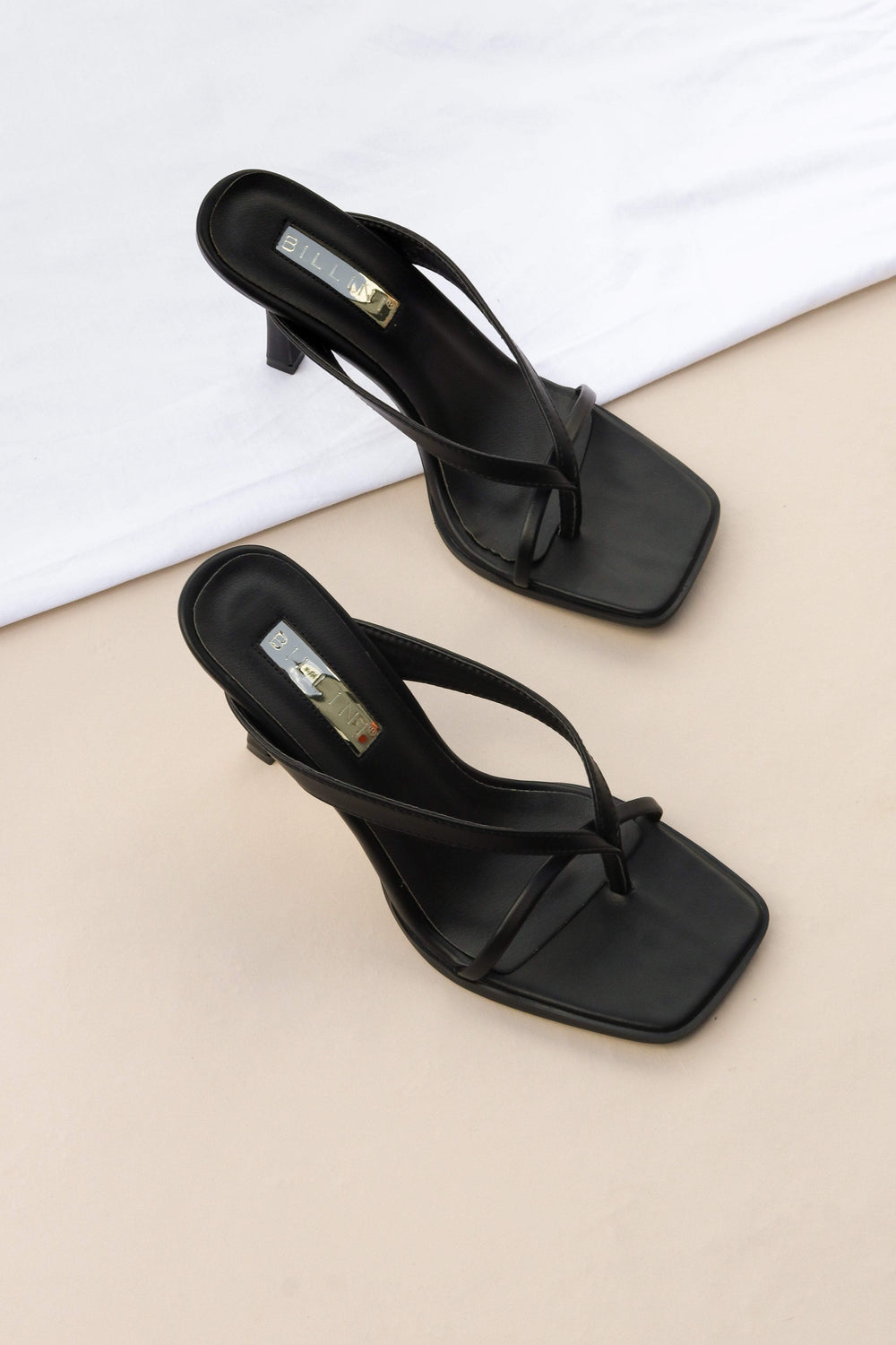 SHOES ***Samba Heel - Black (RRP $89.95)