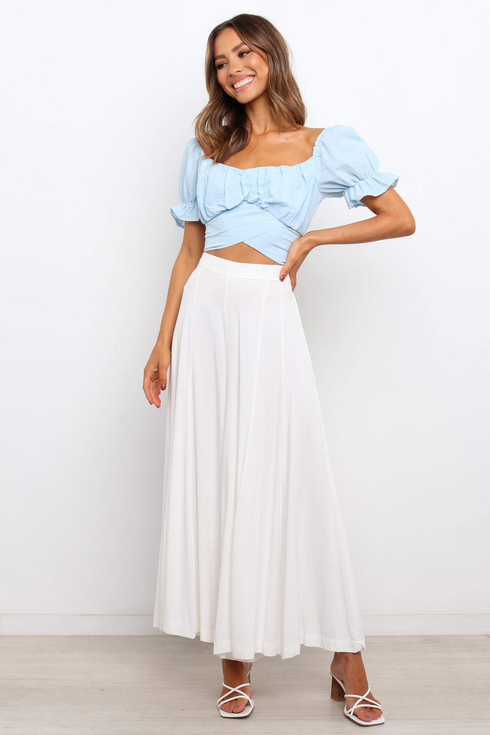 TOPS Sacchi Top - Light Blue