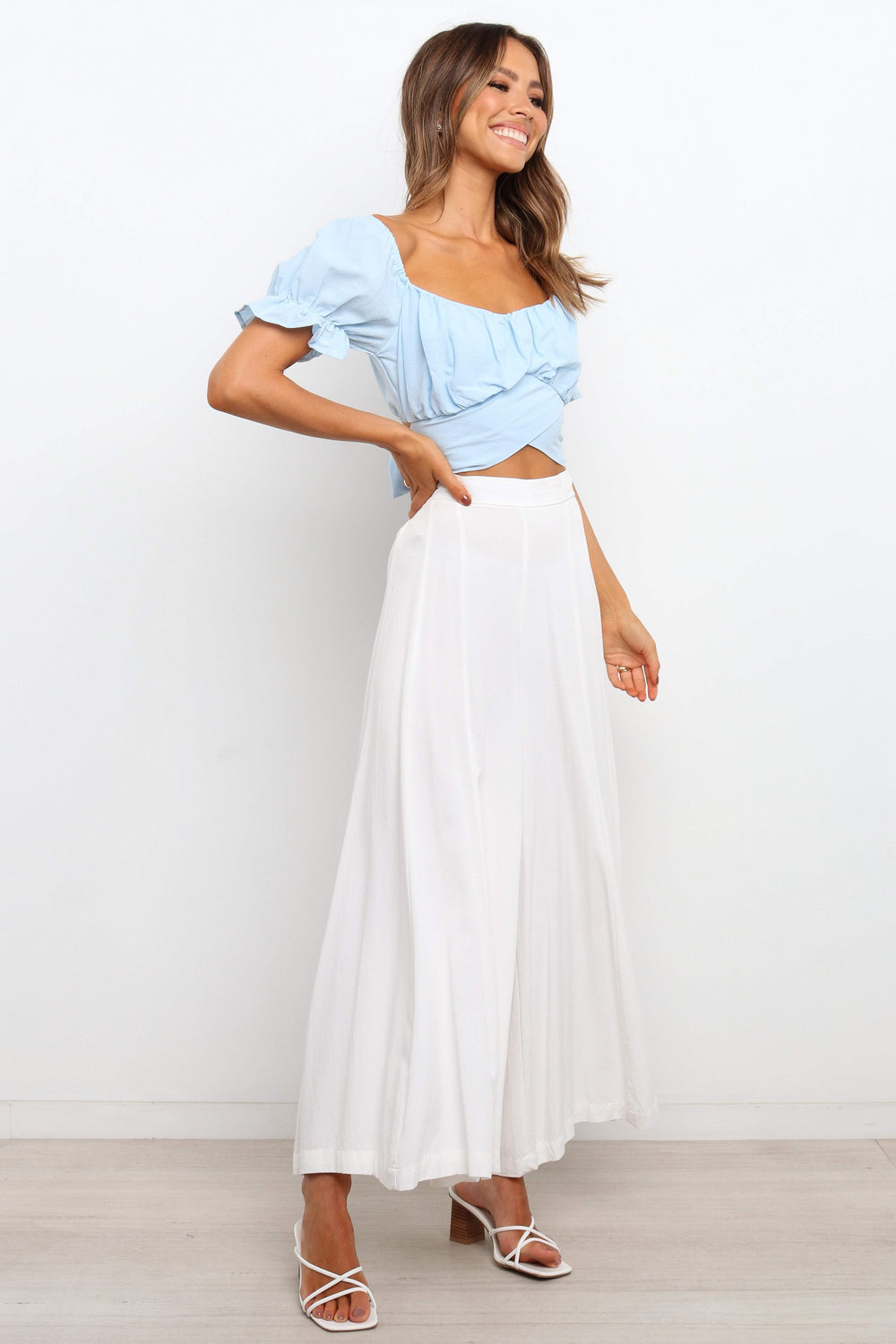 TOPS ***Sacchi Top - Light Blue