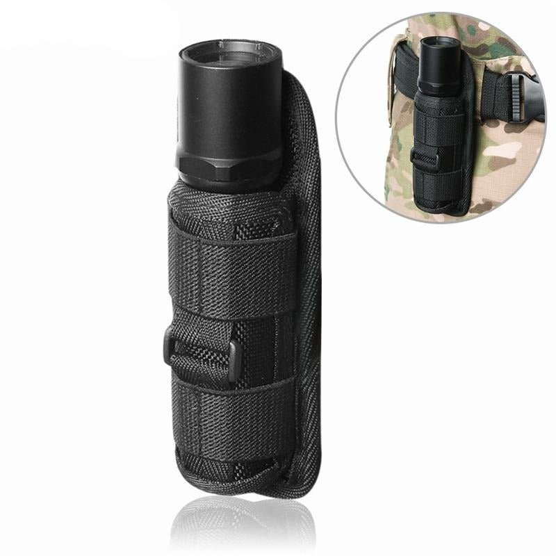Outdoor Tactical Flashlight Pouch Holster