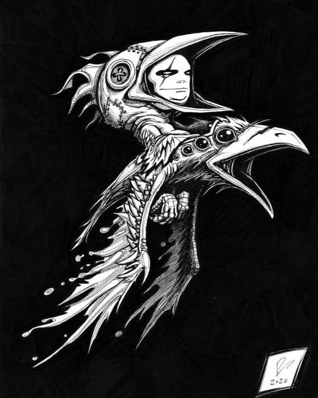 Birdman Ink by Byous