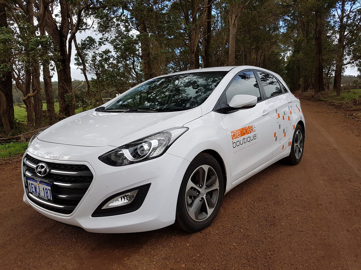 Newly branded Tile Boutique Cars
