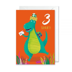 3rd Birthday Dinosaur