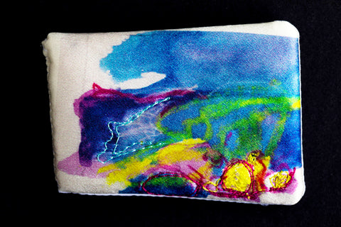 Beach & Machair #3 Brooch by Jo Hall