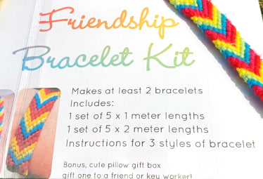 Friendship Bracelet Kit - by Lucy Jackson