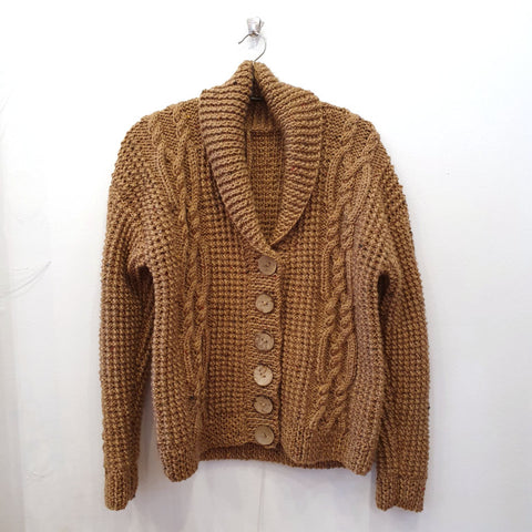 Brown Cardigan by Caroline Bruce