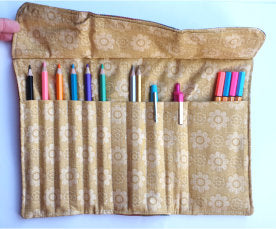 Crocher Hook/Pencil Roll - by Lucy Jackson