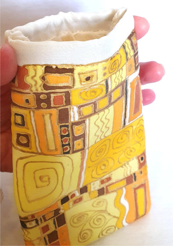 Klimt Inspired Glasses Case - Agnes Sutherland