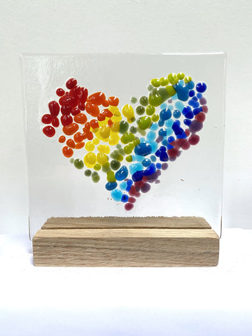 Glass Hearts - by Kate Doherty - Mauralen Glass