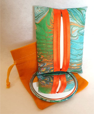 Tissue Holder & Mirror Set - Agnes Sutherland