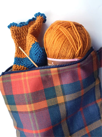 Project Bag Wool - by Lucy Jackson