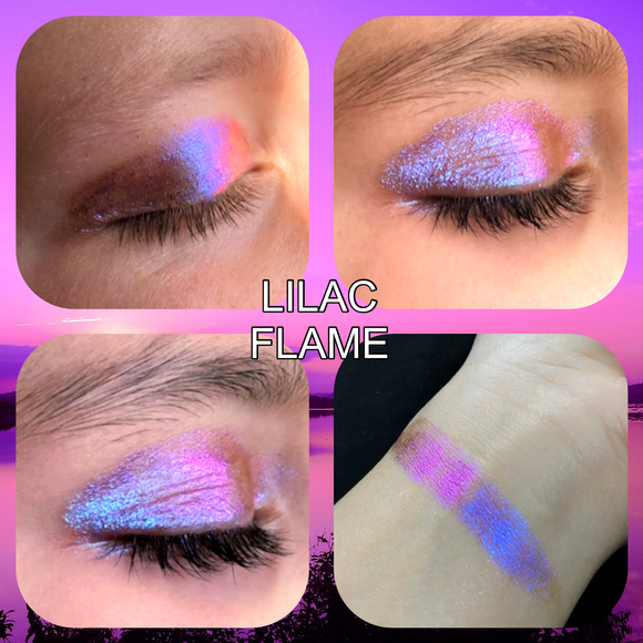 "Multichrome Loose Pigment ""Lilac Flame"" (Candy Chrome Series)"