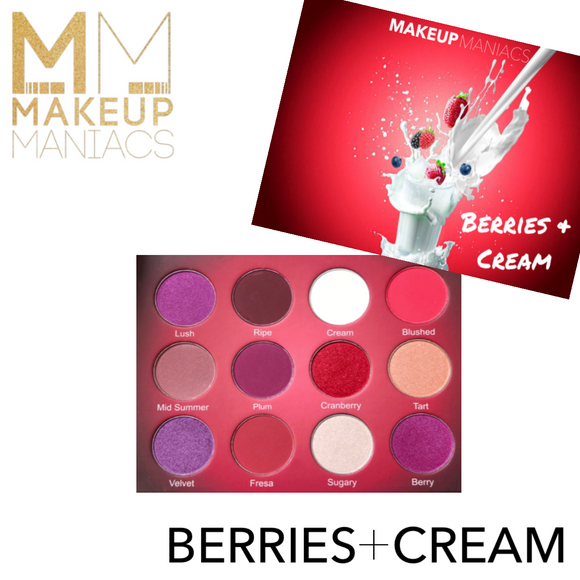 Berries & Cream Palette