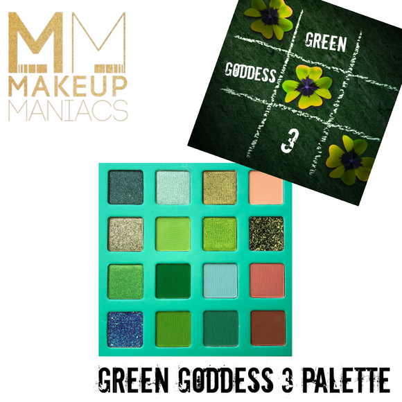 Green Goddess 3 Palette