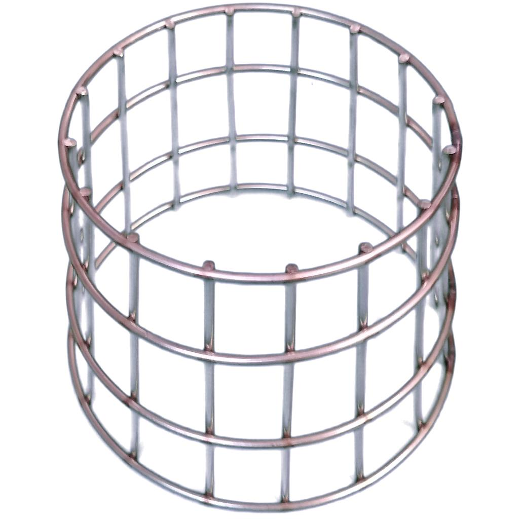 Coal Cage Free Standing Open Ended Coal Burning Retaining Cage