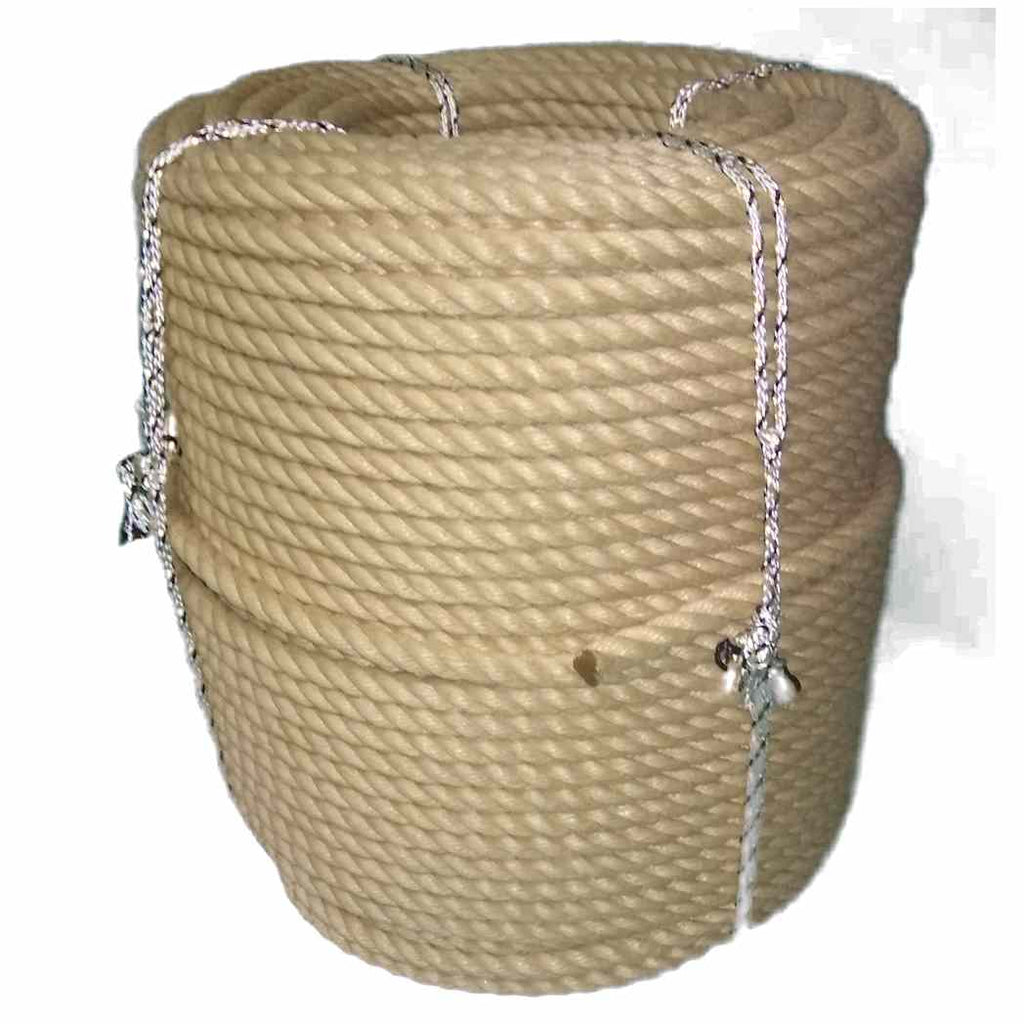 Coil Of Hempex Mooring Rope For Canal Narrowboats 12mm and 14mm