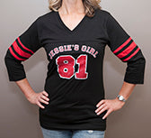 Jessie's Girl Jersey - Red and Black