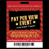 "TICKET: World Premiere Pay-Per-VIew Stream of ""Orchestrating My Life"" + Event T-Shirt"