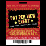 "TICKET: World Premiere Pay-Per-View Stream of ""Orchestrating My Life"" + Event T-Shirt + Roses delivered with a personalized Valentines Day Card from Rick"