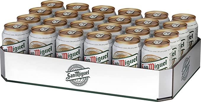 WhenUWantIt Bristol & Bath | San Miguel 24 x 500ml Cans | Alcohol Delivery Bristol | Open 24 Hours