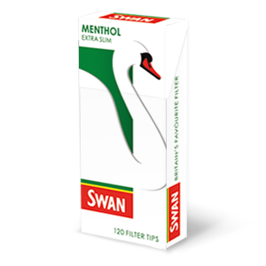 Swan Menthol Filter Tips - Bristol Booze - Alcohol Delivery Bristol