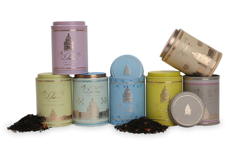 The Palace Tea Room Tea Range