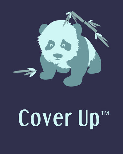 Cover Up sewing embroidery stabilizer panda logo