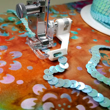 Load image into Gallery viewer, Creative Feet Sequins & Ribbon Sewing Machine Presser Foot Sequins Stitching