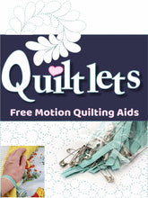 Load image into Gallery viewer, Quiltlets free motion quilting aids logo