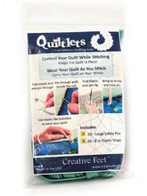 Load image into Gallery viewer, Quiltlets free motion quilting aids package