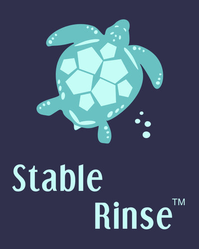 Stable Rinse sewing embroidery stabilizer turtle logo