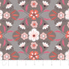 Quilting Fabric Yardage - Captivate Damask in Taupe by Alisse Courter for Camelot Fabrics (100% Cotton, Quilting Fabric)